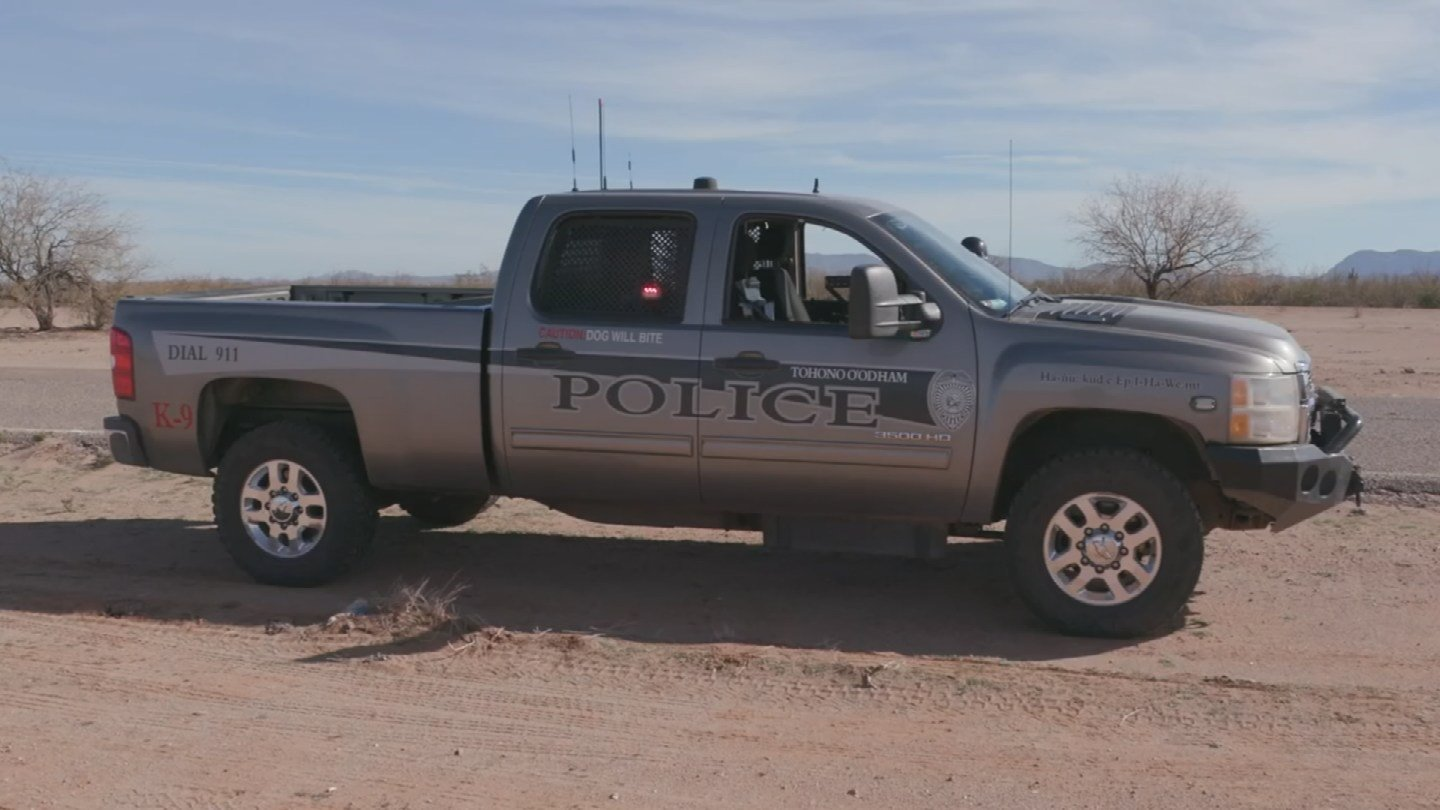 Tohono O'odham police and Border Patrol agents have seized an average of more than 313,000 pounds of drugs per year since 2002, according to the tribe. (Source: Tohono O'odham Nation)