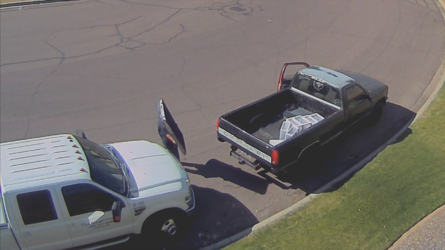 Arizona reportedly ranks fourth in the nation for tailgate thefts. (Source: 3TV/CBS 5)