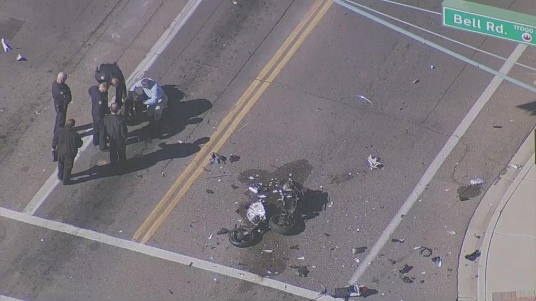 Fatal crash at 20th St. & Bell Road (Source: 3TV/CBS 5)