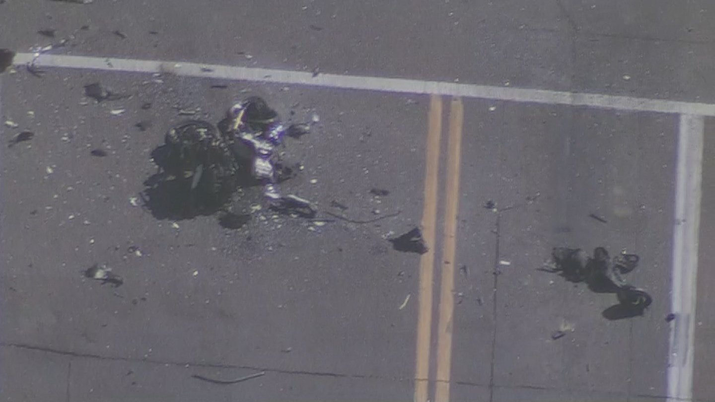 Fatal crash at 20th St. & Bell Road (Source: 3TV/CBS 5)