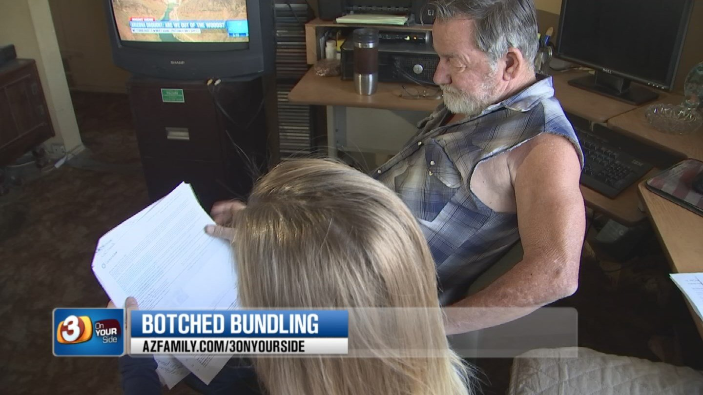 A Valley man couldn't believe his DirecTV bill. (Source: 3TV/CBS 5)
