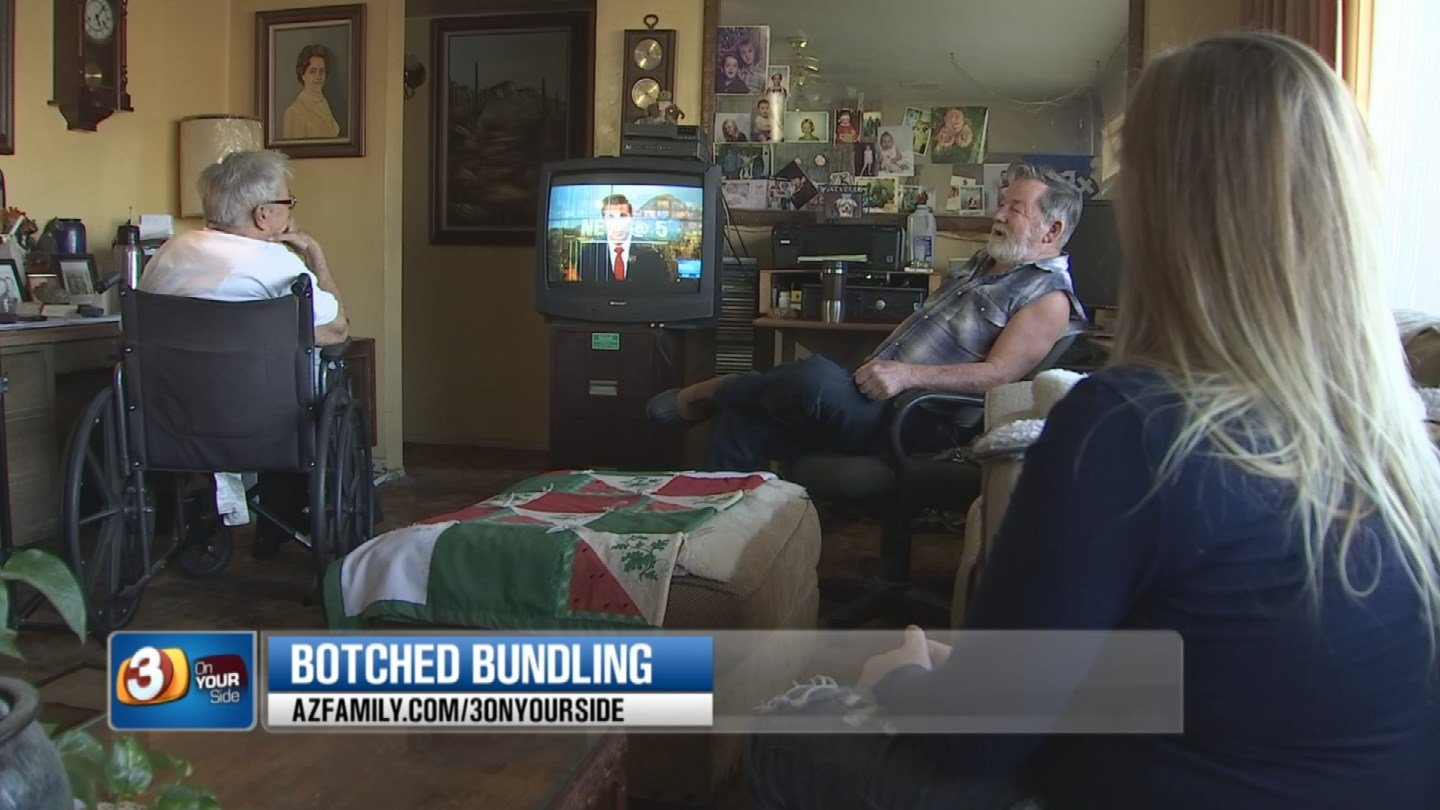 When his daughter went through the bill to see why it's so high, she discovered her dad has all kind of premium channels that he never ordered and doesn't want. (Source: 3TV/CBS 5)