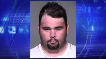 Booking photo of Christopher Madill. (Source: Maricopa County Sheriff's Office)