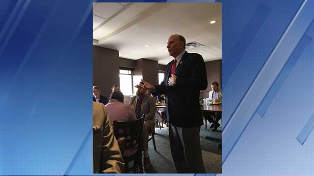 Rep. Louie Gohmert  spoke earlier this week about the political landscape and its effect on Tyler, Texas, to the Tyler Young Professionals Network. (Source: Louis Gohmert via Facebook)