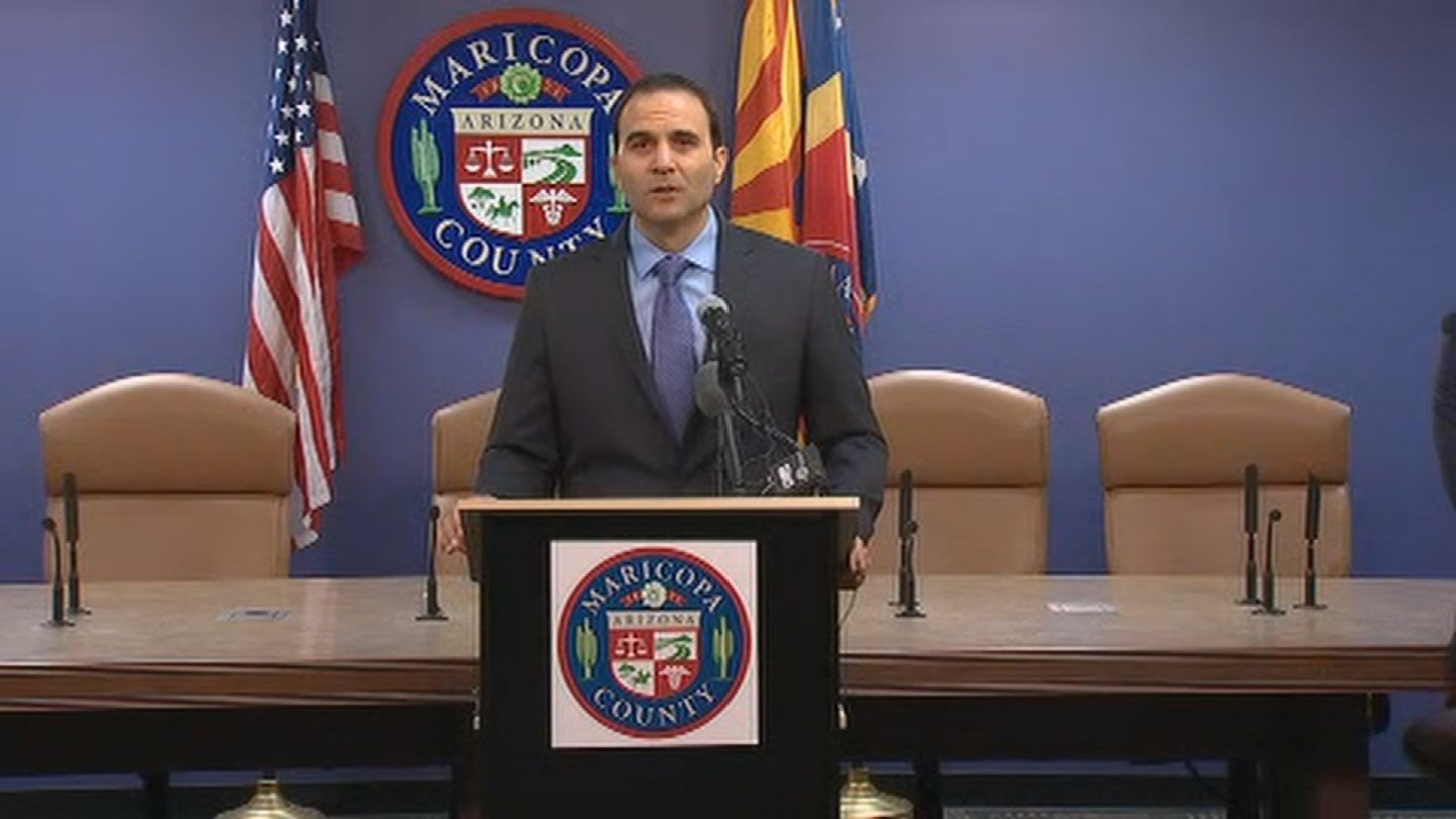 Maricopa County Sheriff Paul Penzone (Source: 3TV/CBS 5)