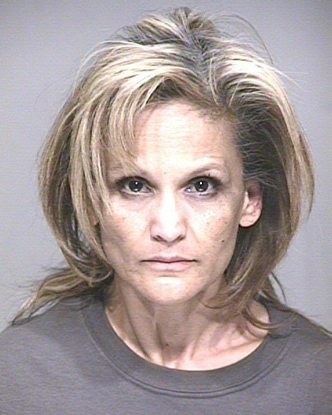 Booking photo of 53-year-old Delia Flores. (Source: Scottsdale Police Department)