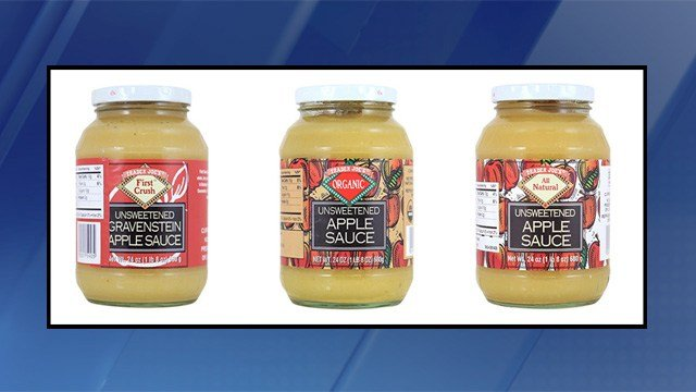 Trader Joe's is voluntarily recalling three kinds of apple sauce. (Source: Trader Joe's)