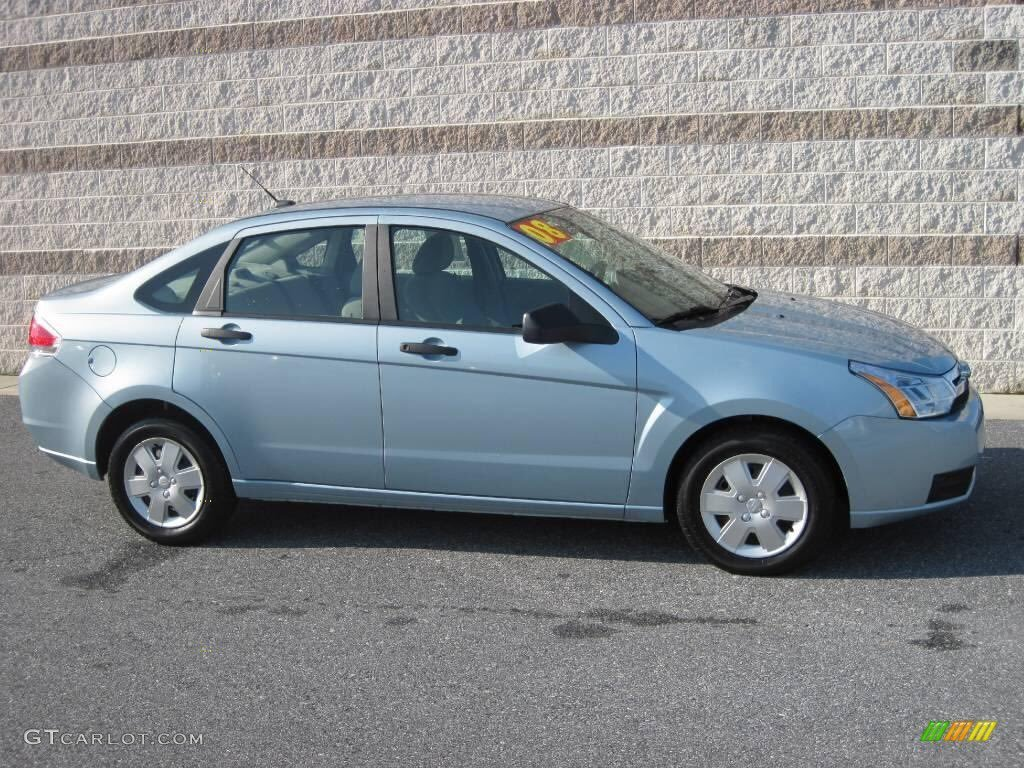 This is a stock photo of what a 2008 Ford Focus looks like. (Source: Tucson Police Department)