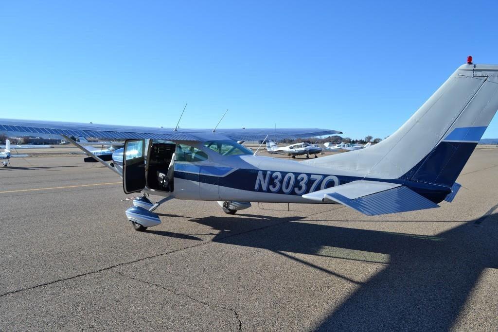 Cessna 182  (Source: Yavapai County Sheriff's Office)