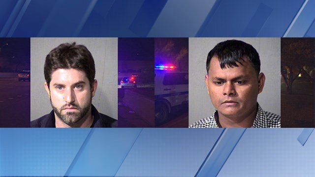 Christopher Farruggio, 33 (left) and Abdullah Halamiah, 29 (Source: Maricopa County Sheriff's Office)