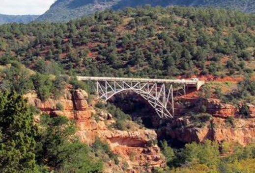 File photo of Midgley Bridge in Sedona
