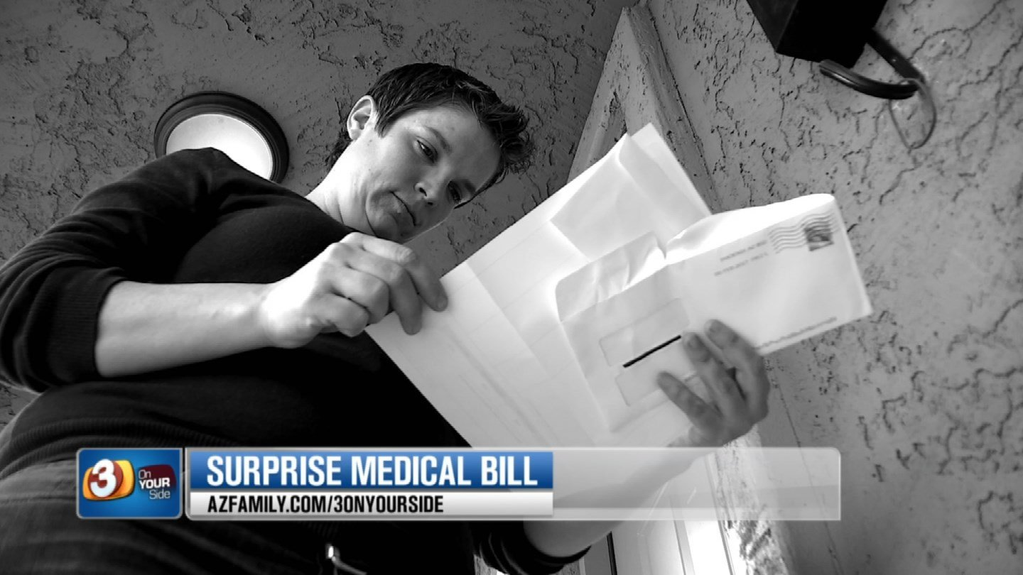 Carrie Wallinger got a surprisingly high medical bill after getting her hand taken care of. (Source: 3TV/CBS 5)