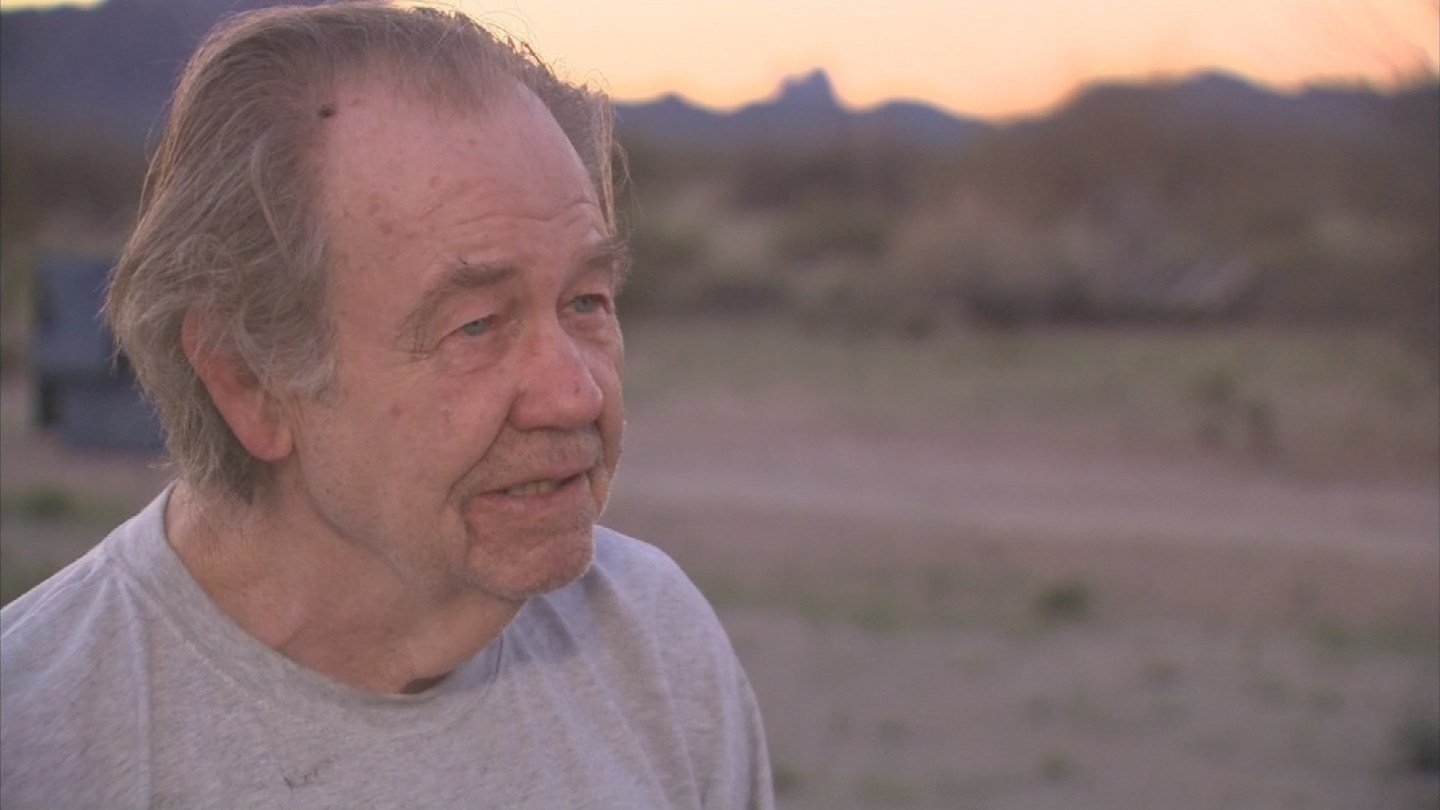 Dwight Music, 73, talks about how he got stranded after driving down a flooded road. (Source: 3TV/CBS 5)