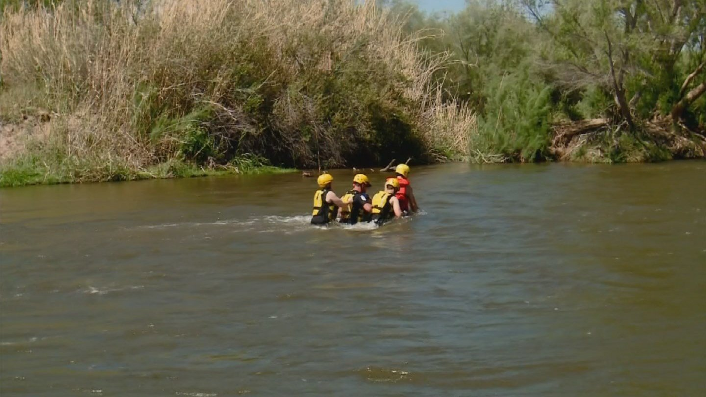 Rescue teams train year-round to be ready for calls. (Source: 3TV/CBS 5)