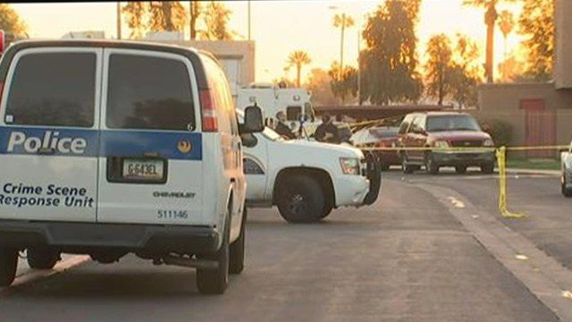 Officers were looking for three suspects in connection with the deadly shooting. (Source: 3TV/CBS 5)