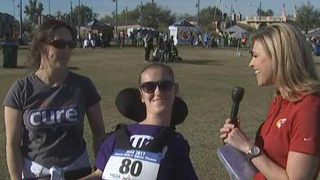 Angel Wolff (left), Madi Wolff, 3TV's April Warnecke (right) (Source: 3TV/CBS 5)