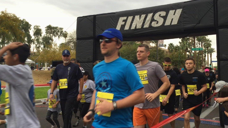13th Annual Arizona Fallen Officer Memorial 5k Run/Walk. (Source: 3TV/CBS 5)