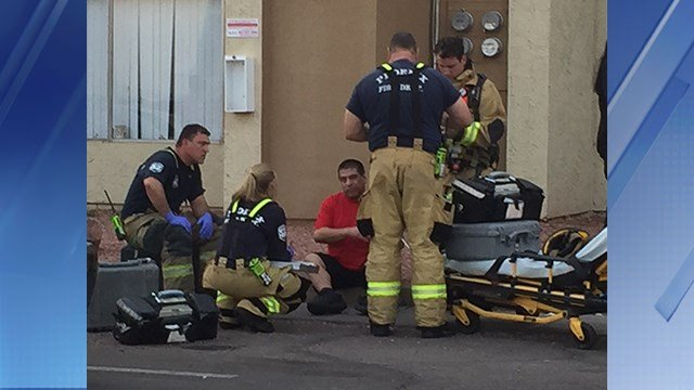 2 people suffered only minor injuries when a dryer exploded in Phoenix. (Source: 3TV/CBS 5)