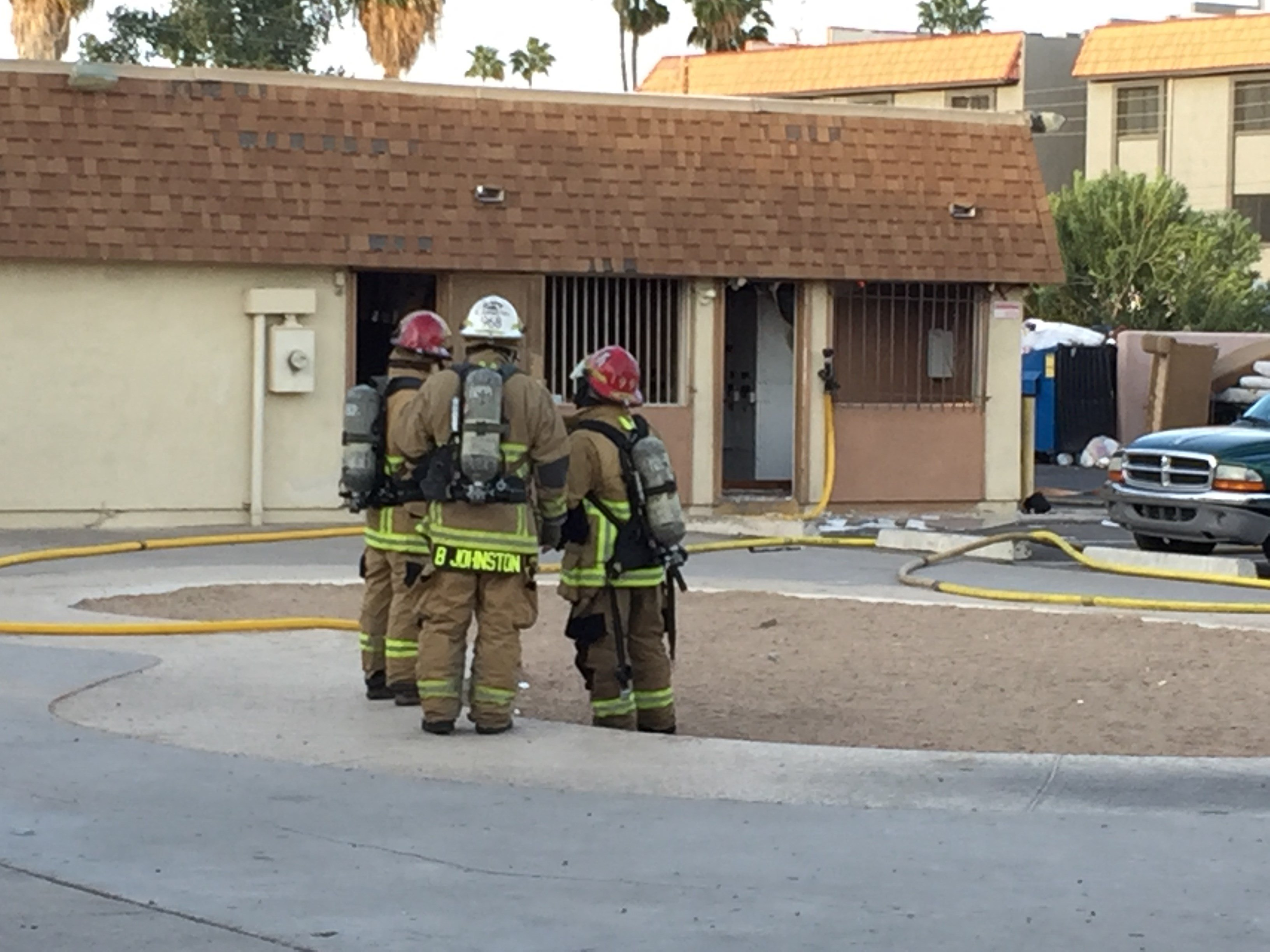 Somebody turned on a dryer and that caused an explosion and a fire. (Source: 3TV/CBS 5)