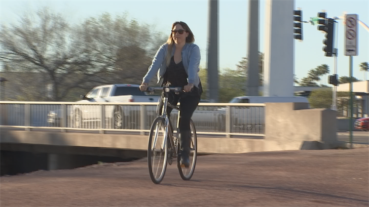 Kendra Sollars had her bike stole but thanks to a network of bicyclists, she was able to get it back. (Source: 3TV/CBS 5)