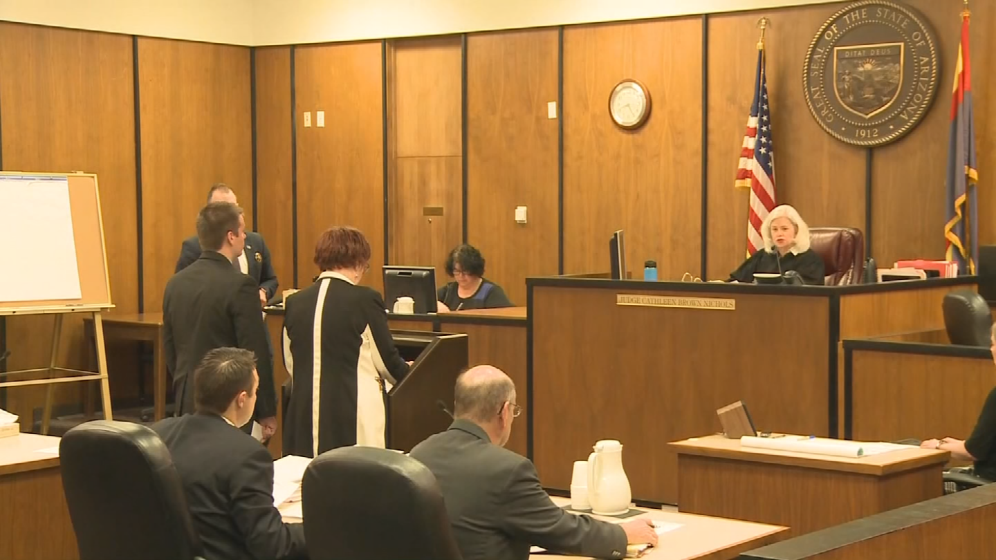 Jeff Bonar entered a not guilty plea to assault charges on Monday. (Source: 3TV/CBS 5)