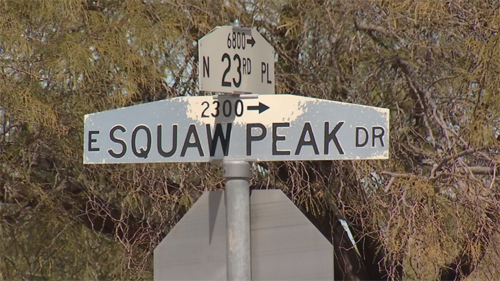 Squaw Peak Drive is a street name that is nostranger to controversy but now homeowners are fighting the mayor's push to change the name. (Source: 3TV/CBS 5)