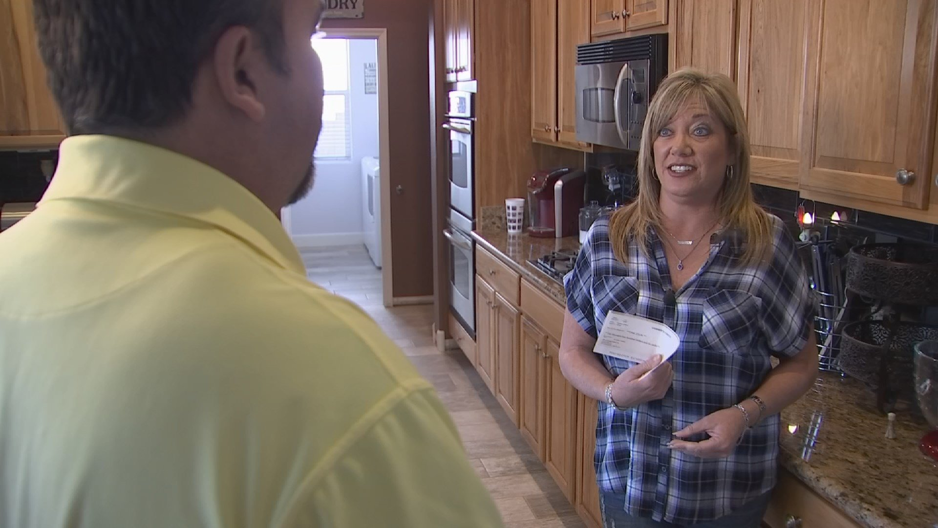Dina Zolin got her money back from an unlicensed contractor. (Source: 3TV/CBS 5)
