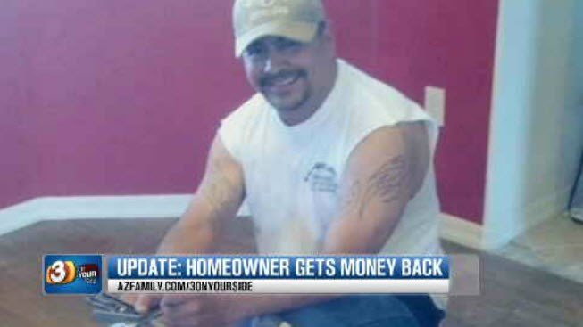 Ricky Parraz is an unlicensed contractor who runs a company called The Arizona Floor Company. (Source: 3TV/CBS 5)