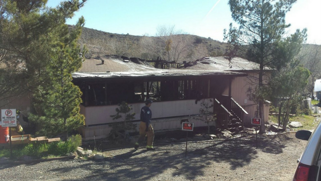 Arson destroys home in Mayer, kills two dogs (Source: Yavapai Co. Sheriff's Office)