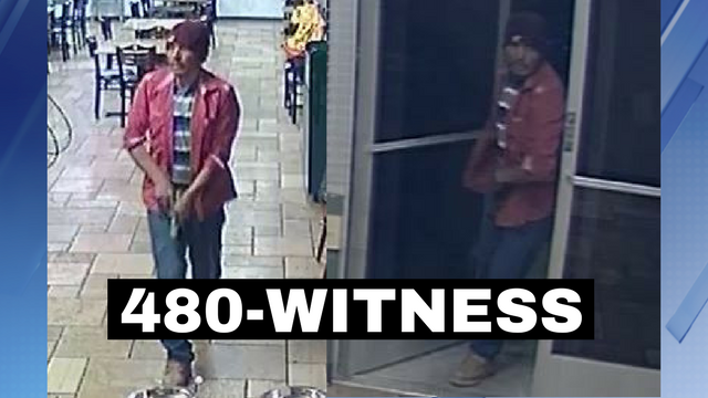 Police say this man was caught on camera robbing Armando's Mexican Food Restaurant in Phoenix. (Source: Silent Witness)