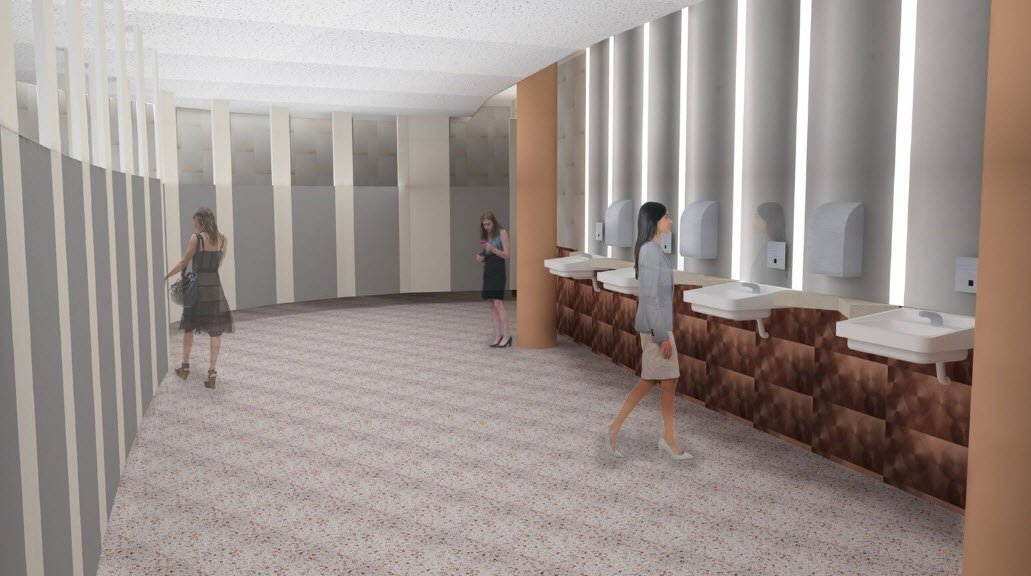 New women's bathrooms at ASU Gammage (Source: ASU Gammage)