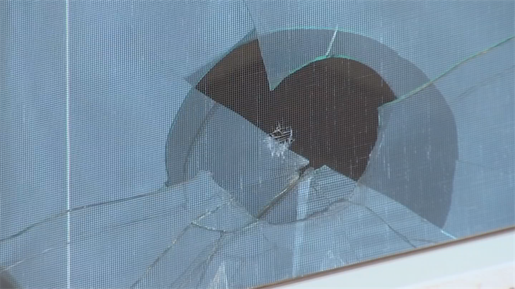 It was a close call for a west Valley family who found a bullet hole in one of their bedroom window. (Source: 3TV/CBS 5)
