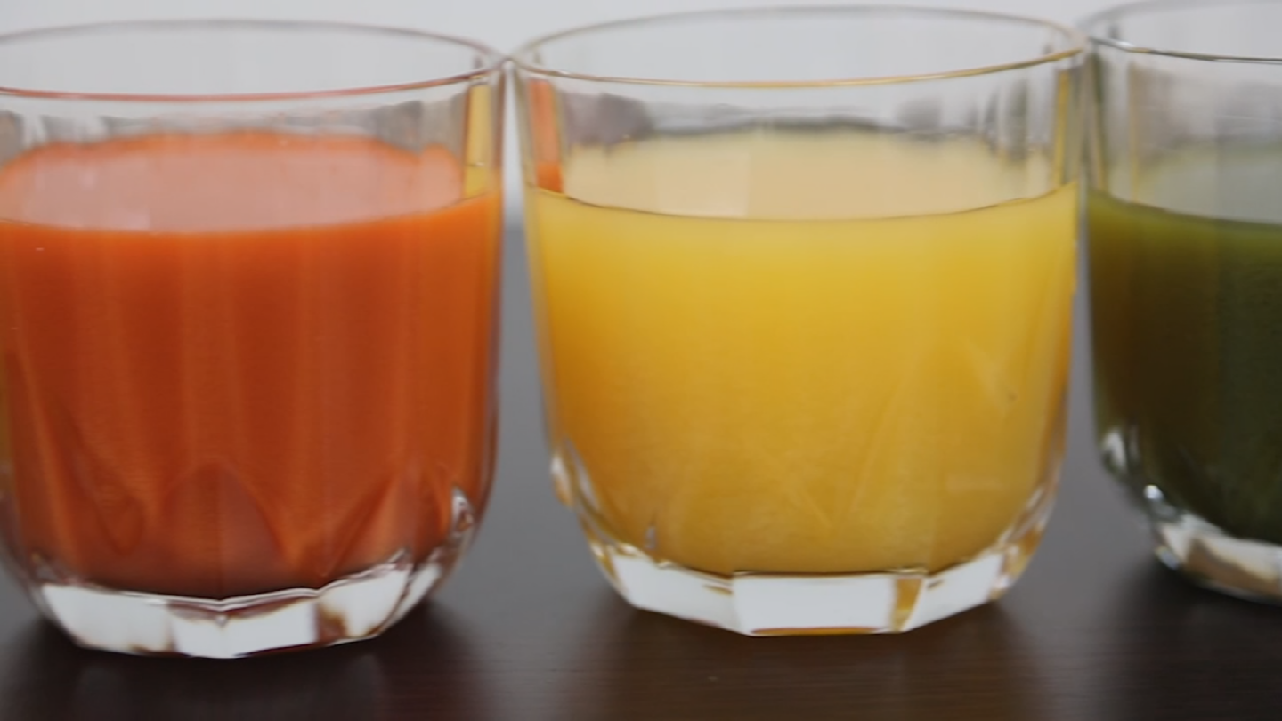 Fans are sipping flavors like 'beans and greens', 'parsnip apple' or 'organic carrot coconut lime'. (Source: 3TV/CBS 5)