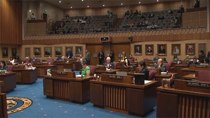 A bill in the state Senate would have local lawmakers decide on U.S. Senators instead of voters. (Source: 3TV/CBS 5)