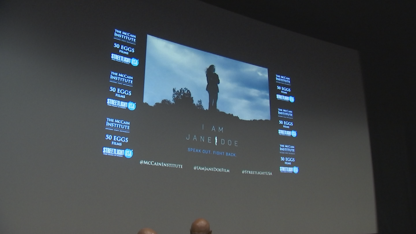 On Tuesday, a special screening of the movie hosted by The McCain Institute followed by a panel discussion took place at Harkins in Scottsdale. (Source: 3TV/CBS 5)