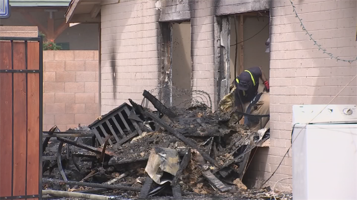 The house was a rental property. (Source: 3TV/CBS 5)