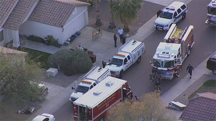 The Arizona Humane Society had to step in and save dozens of animals that were sick at an animal rescue on Wednesday. (Source: 3TV/CBS 5)