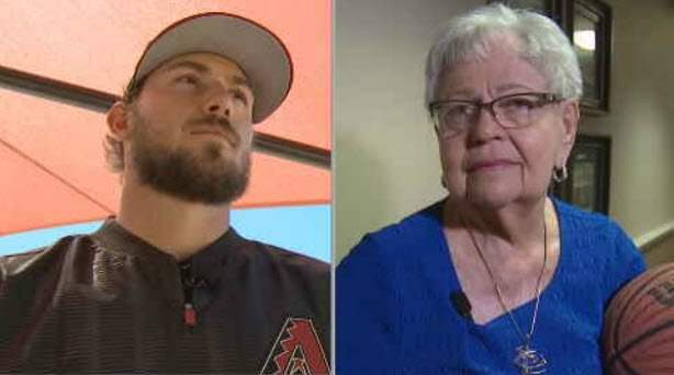 Braden Shipley and Gloria Laynor are going head-to-head to see who has the most accurate NCAA bracket. (Source: 3TV/CBS 5)