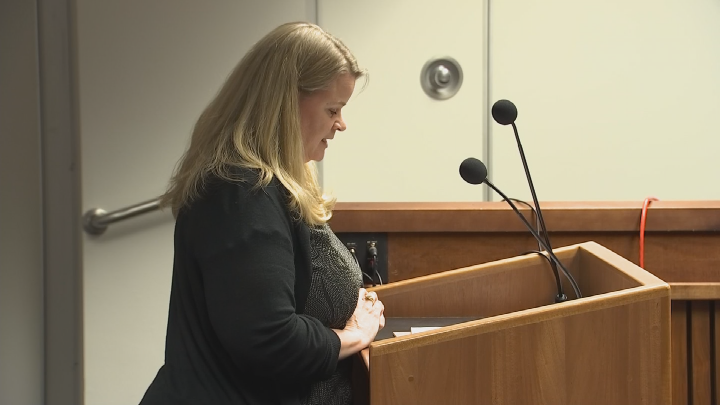 Anmarie Stone testified against the bill. (Source: 3TV/CBS 5)