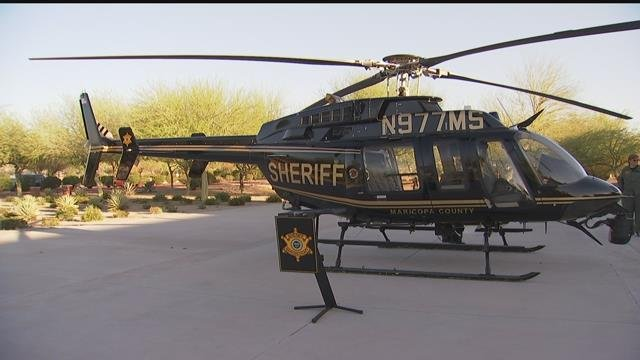 This helicopter is one of the most important tools the Maricopa County Sheriff's Office has. (Source: 3TV/CBS 5)