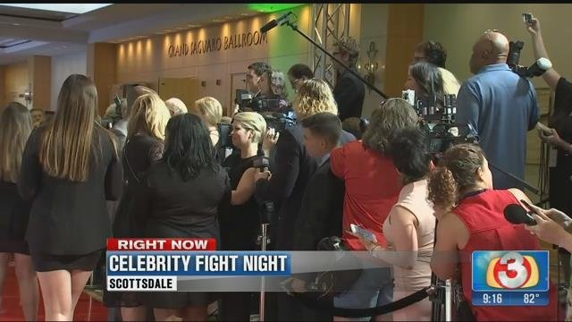 The 23rd Celebrity Fight Night 18 March 2017 [Source: 3TV/CBS5]