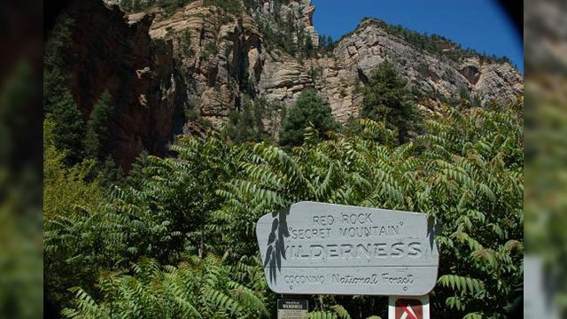 Motorized vehicles and equipment are not allowed in the Red Rock-Secret Mountain Wilderness area. (Source: TripAdvisor)