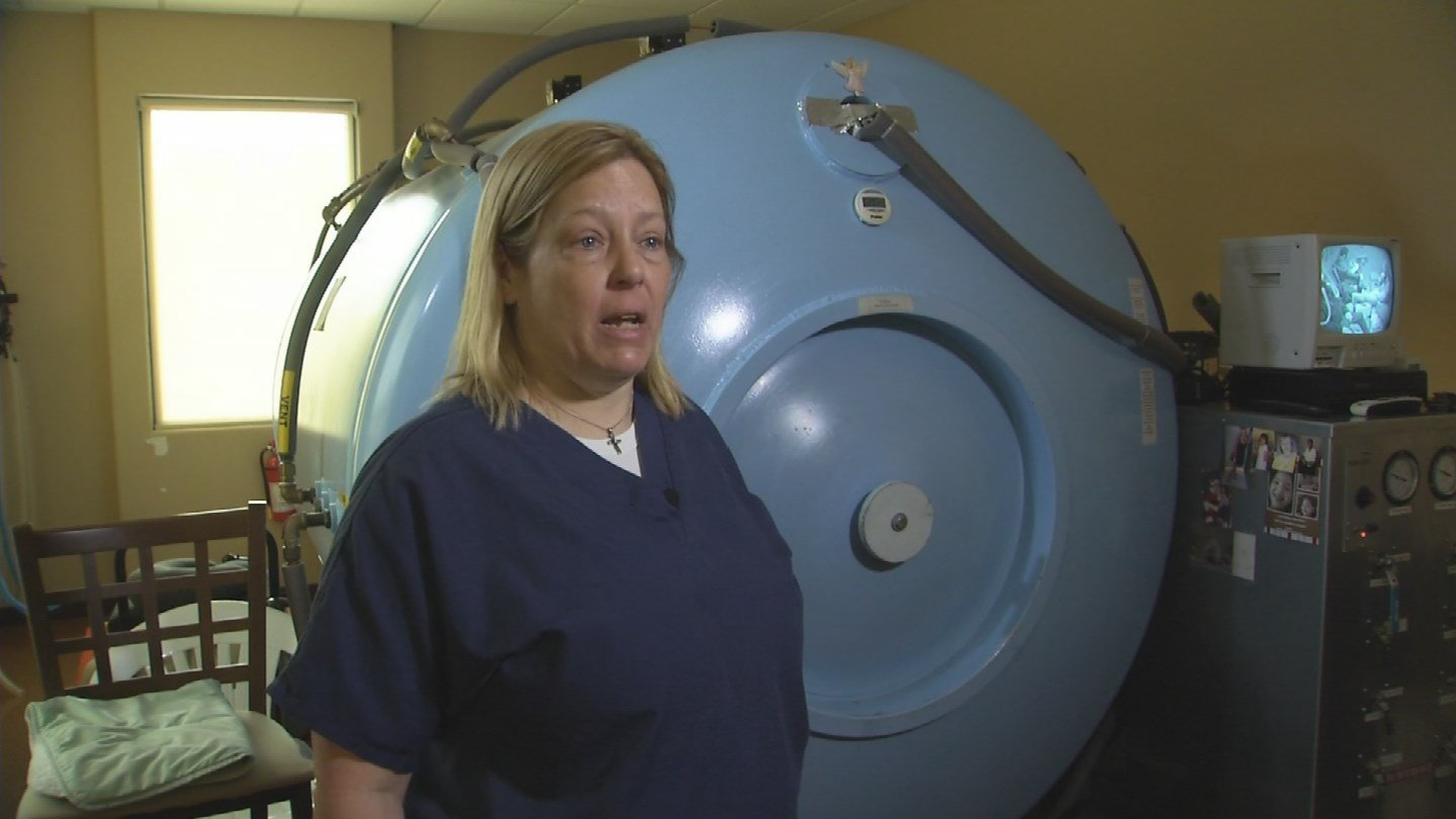 Dr. Carol Hendricks of NorthStar Hyperbaric, Patriot Clinic and Healing Arizona Veterans (Source: 3TV/CBS 5)