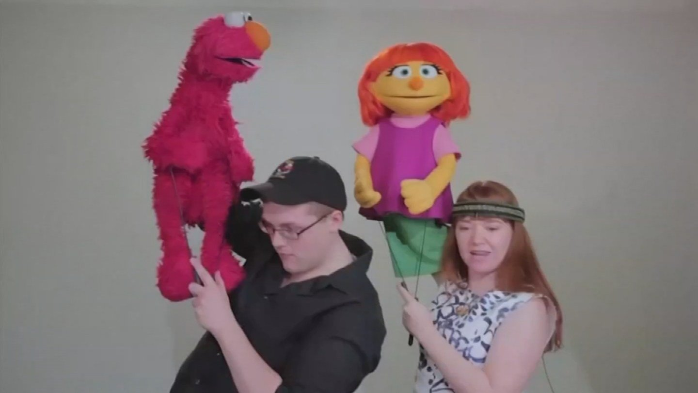 A new character is coming to Sesame Street and the puppeteer is from the Valley. (Source: 3TV/CBS 5)