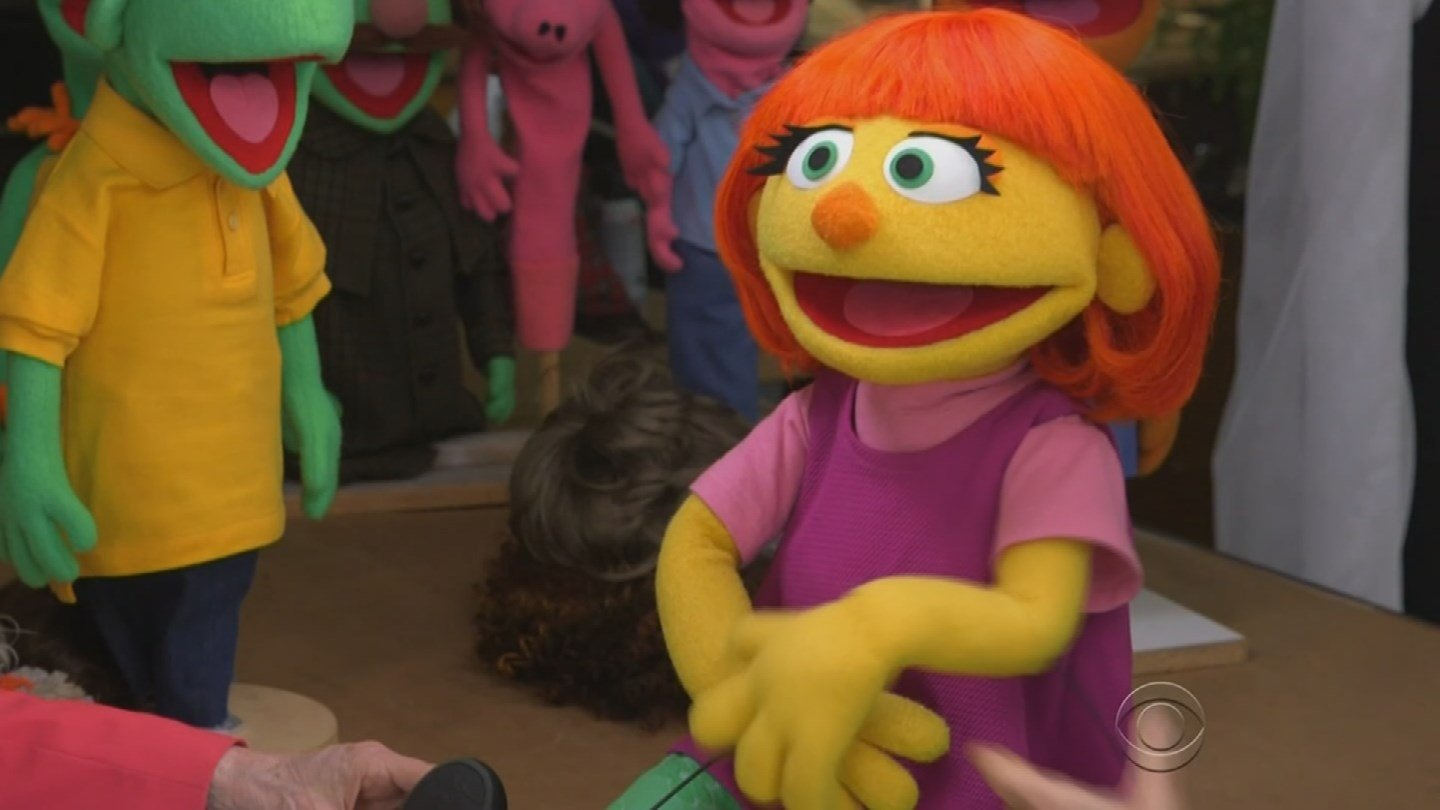 Julia is the first member of the beloved Muppet gang with autism. (Source: 3TV/CBS 5)