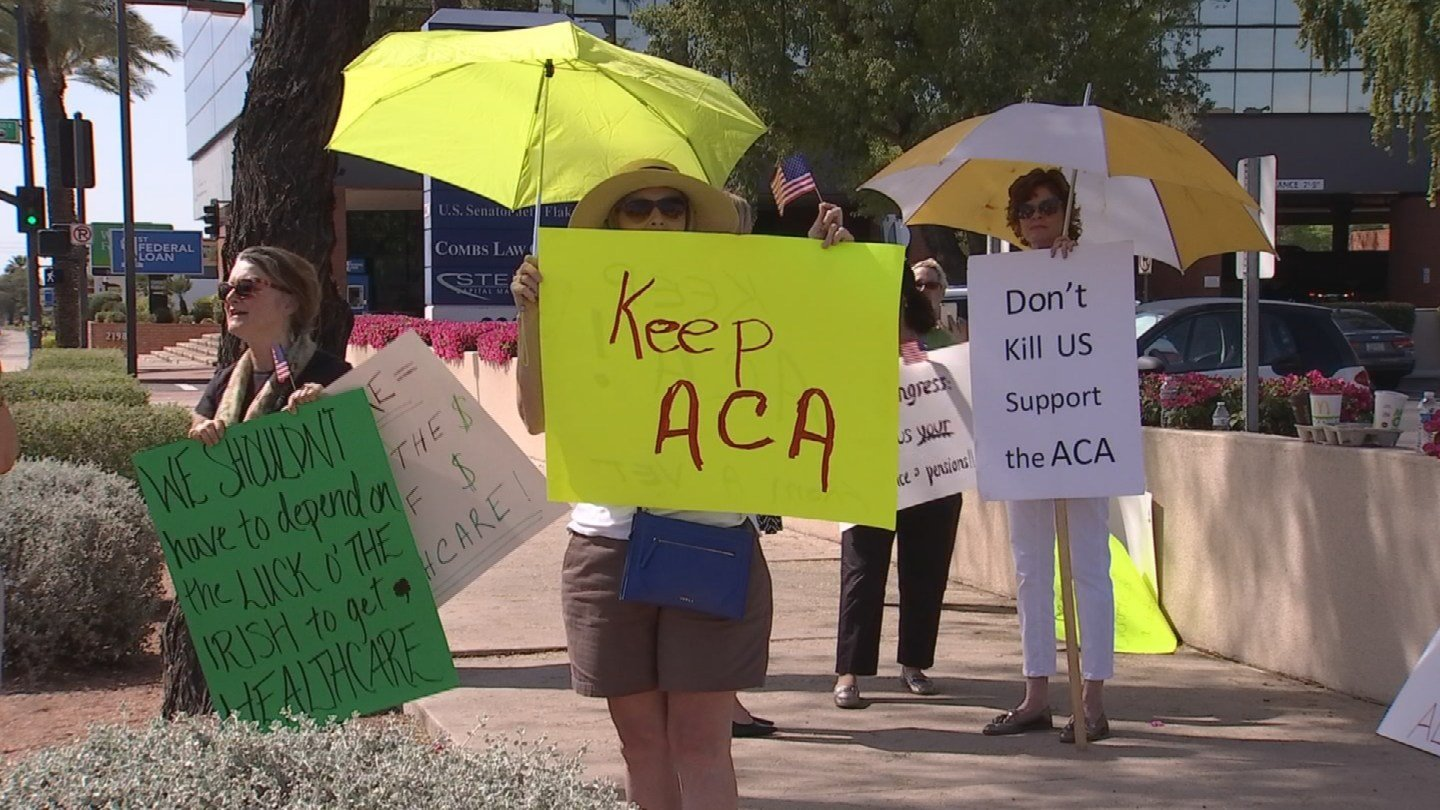 Across the country, there have been rowdy town hall events as Democrats vent their frustration over the new GOP administration. (Source: 3TV/CBS 5)