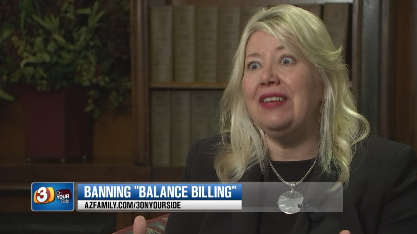 AZ Sen. Debbie Lesko has introduced a measure that would make balance billing a thing of the past. (Source: 3TV/CBS 5)