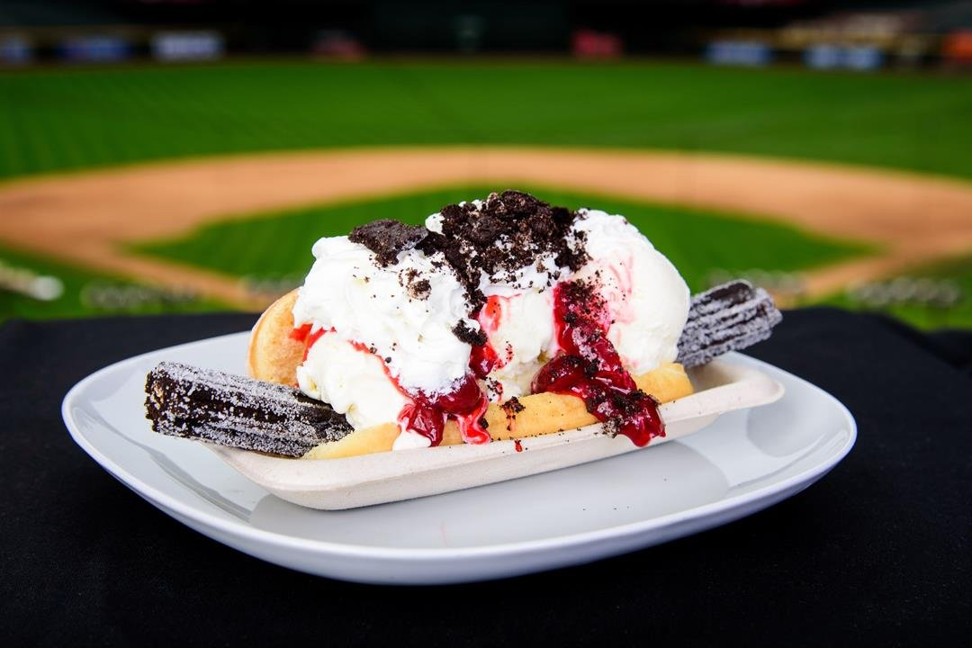 Churro Dog 2.0. (Source: Sarah Sachs/Arizona Diamondbacks)
