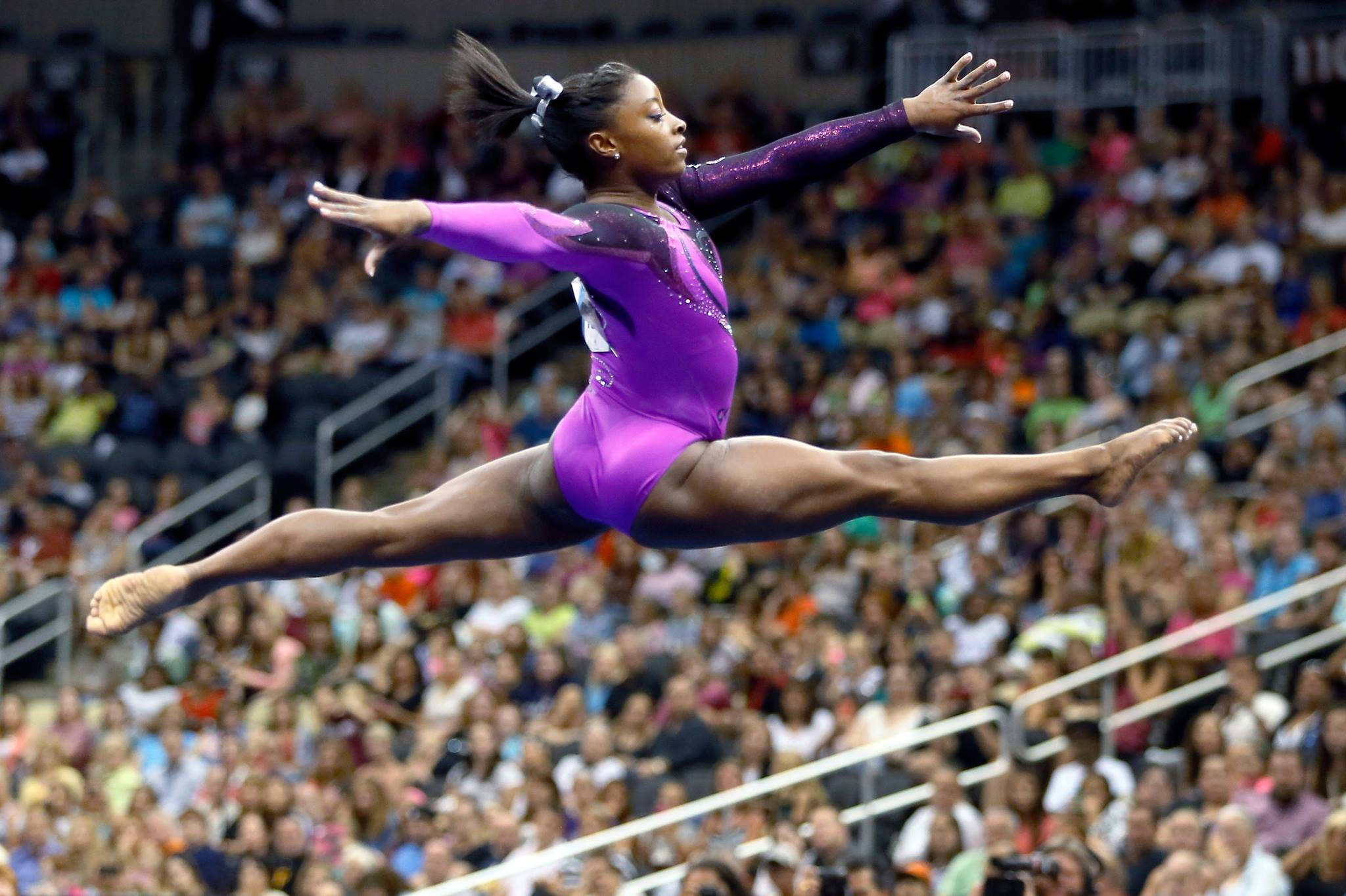 Simone Biles is the most decorated American gymnast of all time and she plans to compete in the 2020 Olympics in Tokyo. (Source: Simone Biles via Facebook)