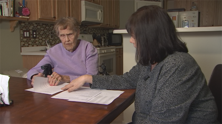 Mary Fowler had to call multiple times to get a replacement check from a care facility. (Source: 3TV/CBS 5)